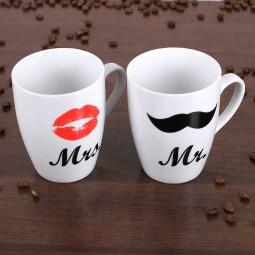 Paar Tassen zur Hochzeit